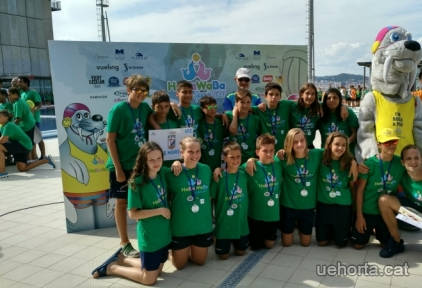 L'aleví mixte 8è al Habawaba Spain 2018 (under12)
