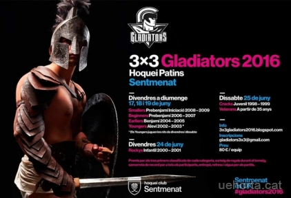 GLADIATORS 3X3 SENTMENAT